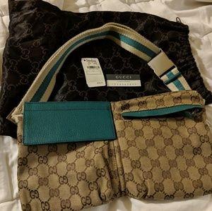 Gucci Turquoise Spring Belt bag Fanny pack